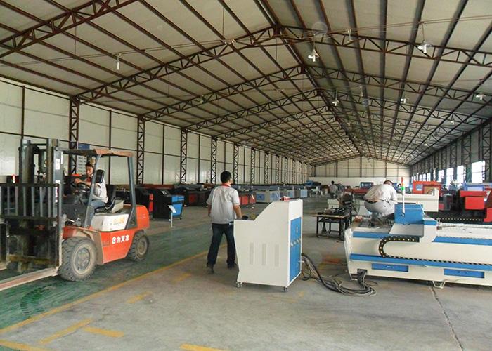 亚钛自动化科技整机包装车间